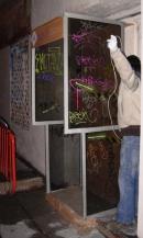 cabina telefonica precaria
