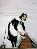 maid by bansky