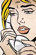 ragazza al telefono - roy lichtenstein